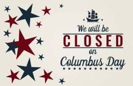 Columbus Day - OFFICE CLOSED