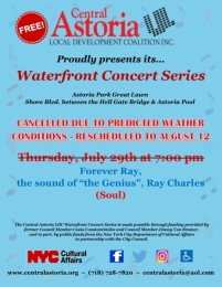 TONIGHT'S CONCERT IS CANCELLED & RESCHEDULED!